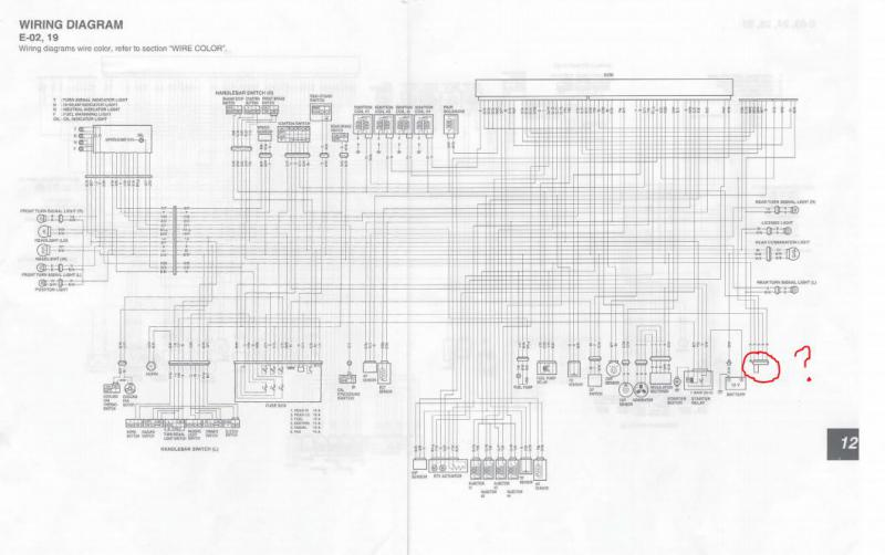 Gsxr 1000 Wiring Diagram