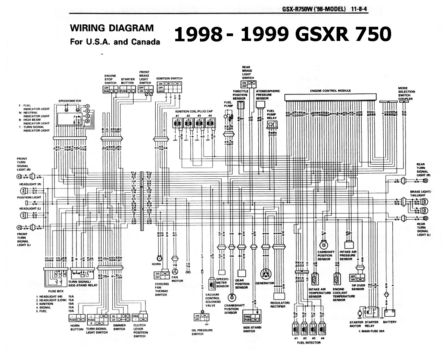 Wiring For 92 Suzuki Gsxr - Wiring Diagram Schemas