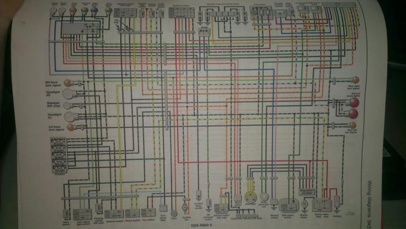 need wiring diagram for 1997 gsxr 600 (needs to have white wire) | page 8 | suzuki  gsx-r motorcycle forums gixxer.com  gixxer.com