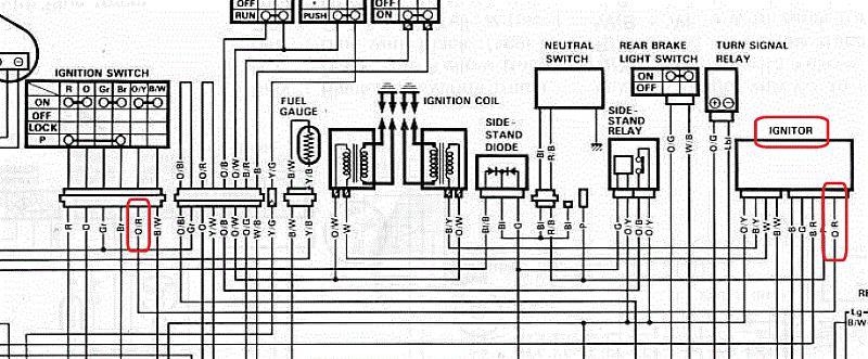 1992 Gsxr 1100 Wiring Diagram