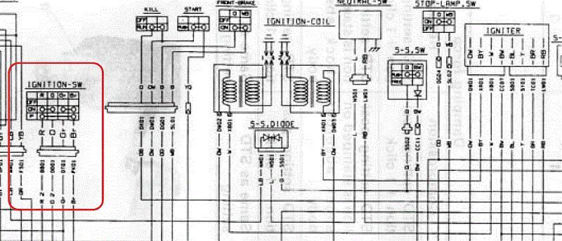 Wiring For 92 Suzuki Gsxr