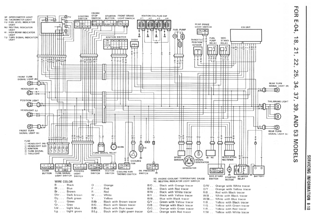Gsxr 600 Wiring Diagram from www.gixxer.com