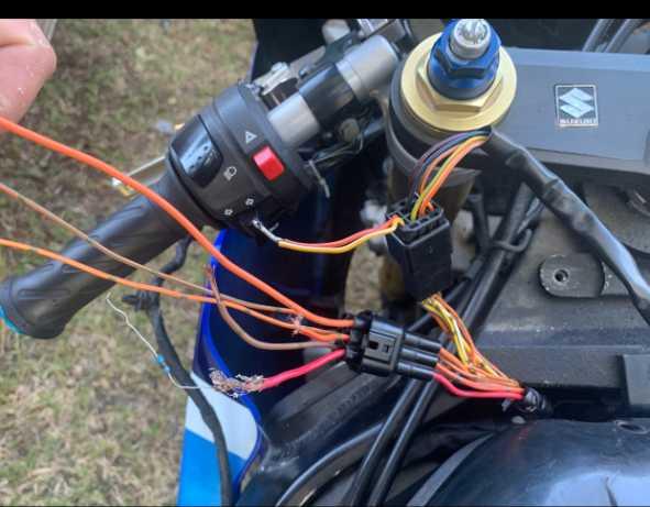 Help With Keyless Ignition Wire Labeling Suzuki Gsx R Motorcycle Forums Gixxer Com