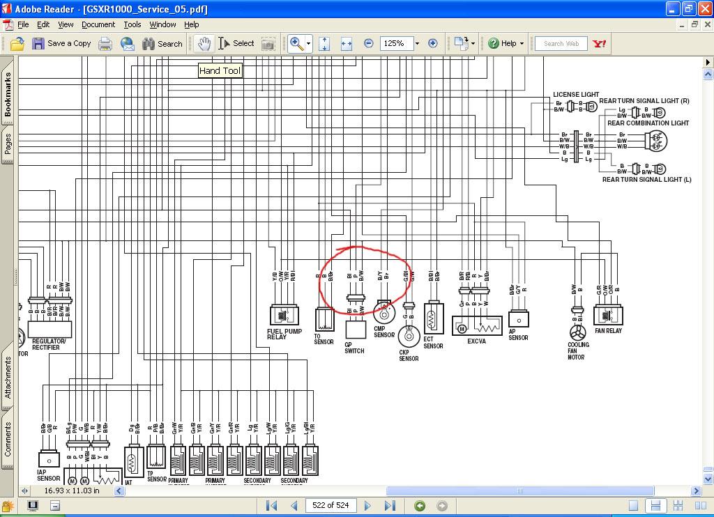 2005 suzuki gsxr 600 wiring diagram k5 k6 gauge wiring diagram or gear indicator circuit  suzuki  k5 k6 gauge wiring diagram or gear