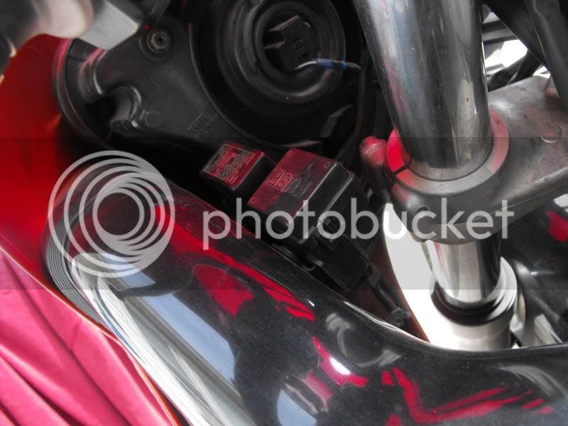 Fuse Box location, need help! | Suzuki GSX-R Motorcycle