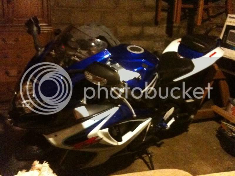 07 gsxr 750 wont start after crash | Suzuki GSX-R Motorcycle