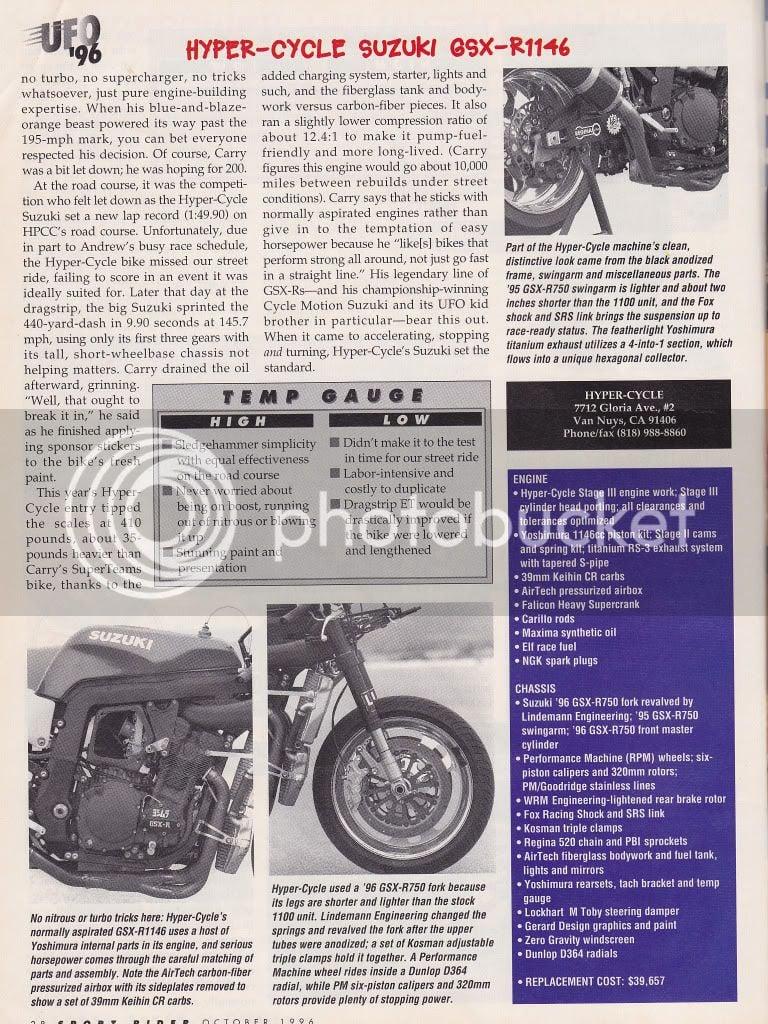 gsxr supercharged | Suzuki GSX-R Motorcycle Forums Gixxer com