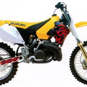 1997 RM250 yell side 450